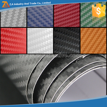 Super Quality 3d Self Adhesive Vinyl Sticker Static Cling Film Carbon 3d Carbon Fiber Car wrap Air free Bubble