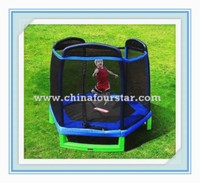 7FT exercise equipmet kids toys trampoline bouncer