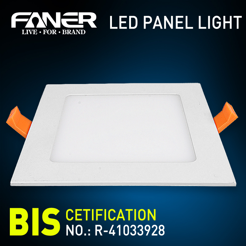 aluminum die casting ultra-thin led recessed ceiling panel light housing