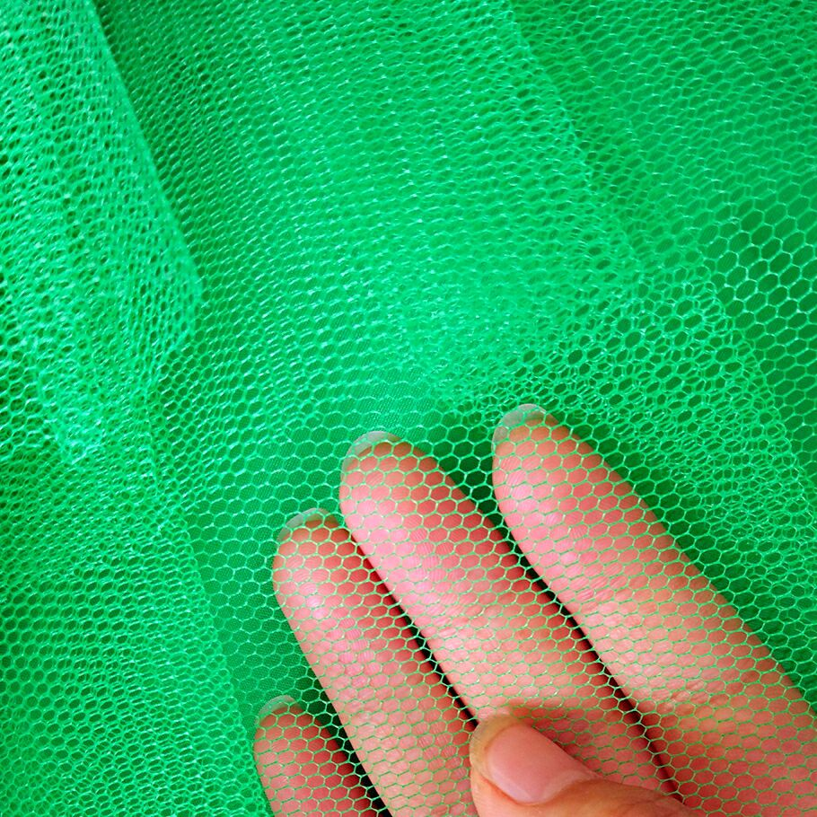 Factory direct custom 40D yarn dyed mesh fabrics