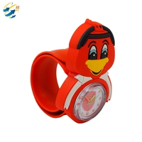 Gift Silicone Slap Bracelet Rubber Watch Gift Children ID Card Holiday Travel All Purpose Cartoon Kid Watch