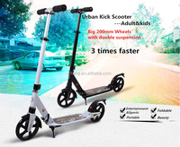 2015 hot sale Aluminum kid scooter with two wheel scooter