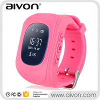 "Kids Smart Phone Watch For iPhone Android Mobile Phone With 0.96"" OLED Display Phone Call GPS Bluetooth"