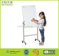 Mobile & Portable Whiteboard with wheels for kids teaching