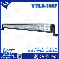 Wholesale night driving Led Bar Light 180W Offroad Led Lamp Bar lamp parts for JEEP