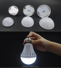 New type 5w 7w 9w 12w led emergency bulb,e27 emergency led lamp e27 rechargeable 7w led bulb emergency
