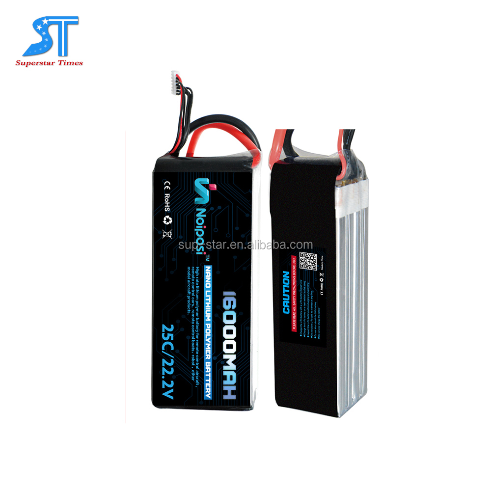OEM High Performance Great Power Series 16000mAh 50C 12s LiPo Battery