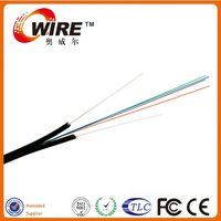 Network Colorful FRP OM2 4 Core Ftth Fiber Optic Cable For CATV