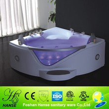 HS-B290A corner use with marble pedal air jet econom whirlpool bathtub