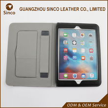 wholesale packaging customized PU leather case for ipad air