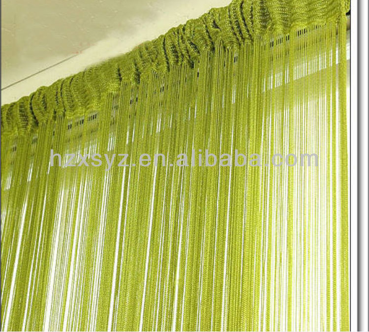 string door curtain for decor