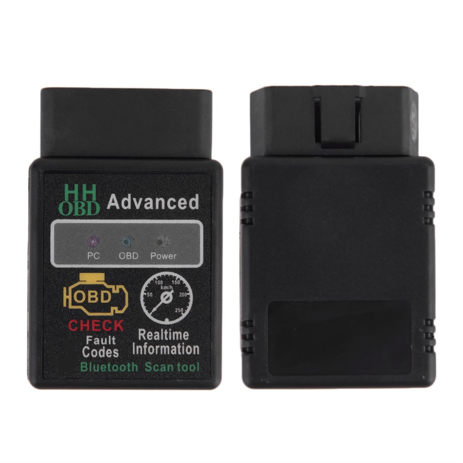 Mini ELM327 V2.1 Bluetooth HH OBD Advanced OBDII OBD2 ELM 327 Auto Car Diagnostic Scanner code reader scan tool
