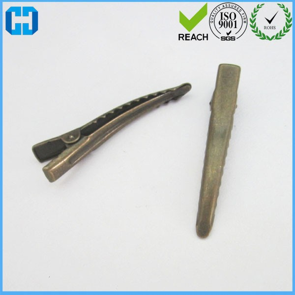 32mm Silver Metal Alligator Hair Clips From China