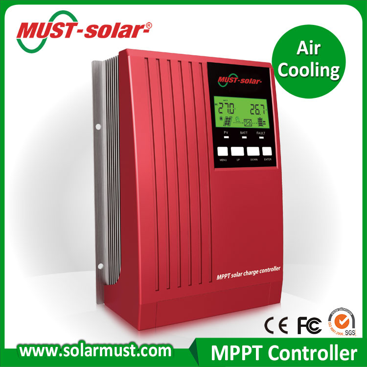 40A PV array short circuit protection MPPT Solar Charge Controller