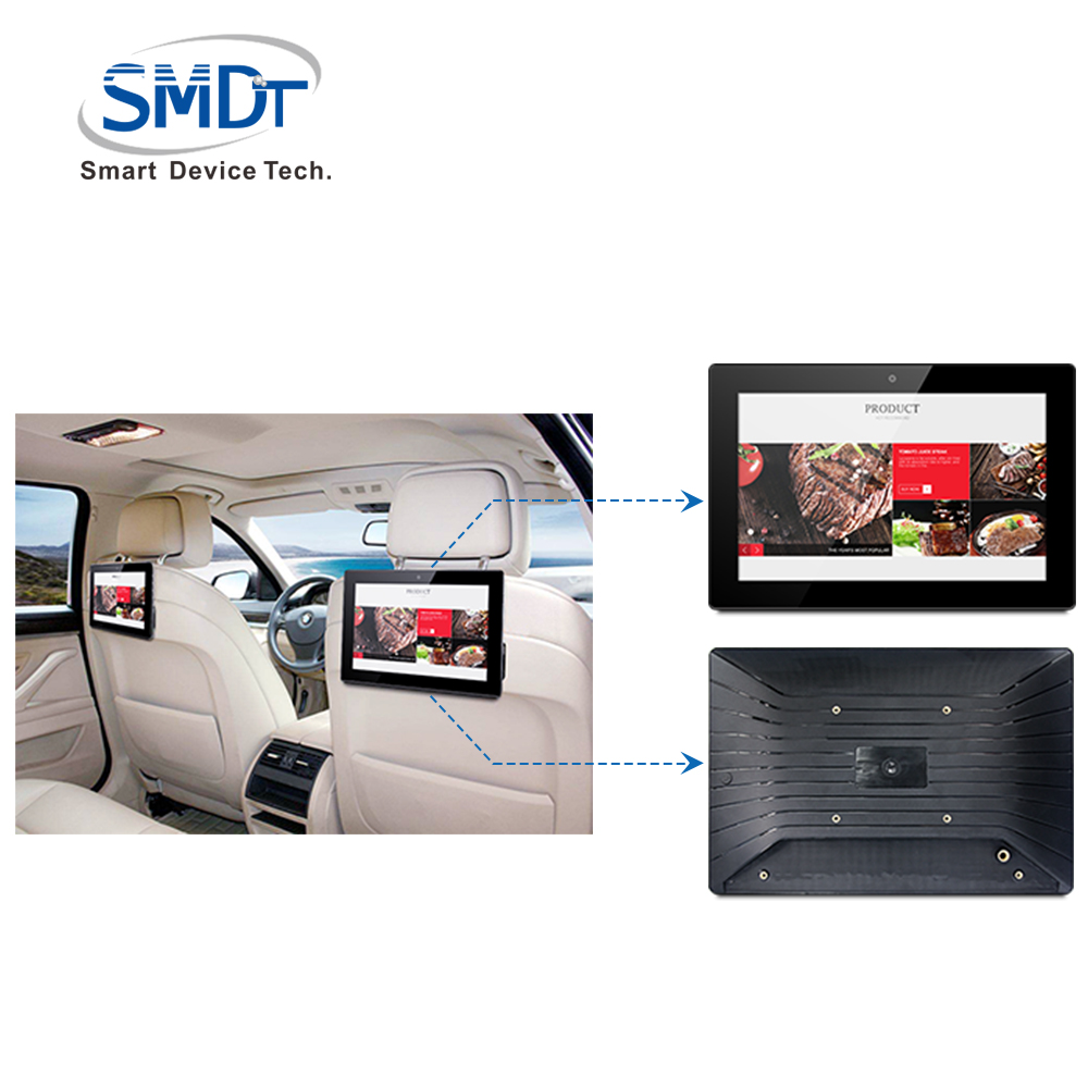 Free sample tablet pc 4G RS232 RS485 port with CMS develop APK software for bus taxi digital ads