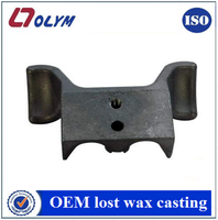 OEM customized steel textile machinery parts precision casting