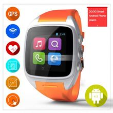 Gaoxin factory wholesale android operating system touch screen watch phone dual sim 3g