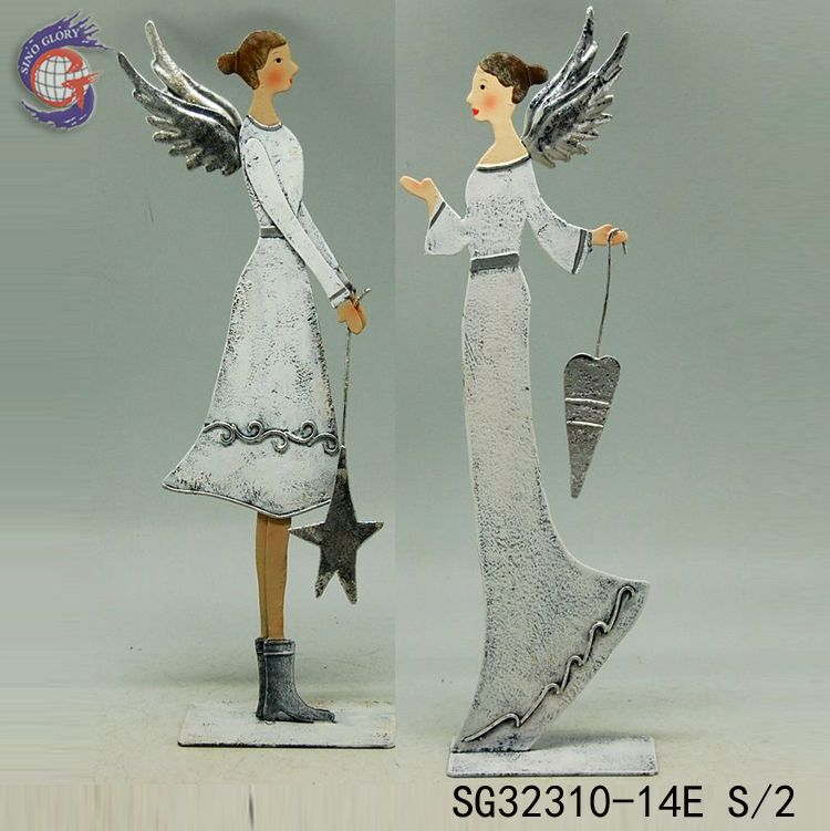 metal angel for decoration