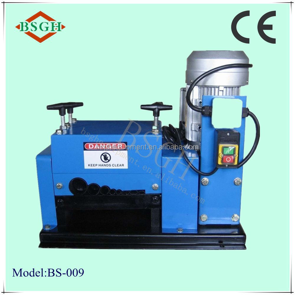 best and reliable perfomance portable cheap copper used wire stripping machine for sale BS-009 (QJ-009)