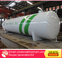 China storage tanker pressure vessel lpg iso tank container
