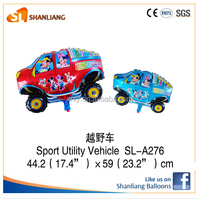 Car Shaped Foil Balloon Classic Toys party decoration,sport utility vehicle