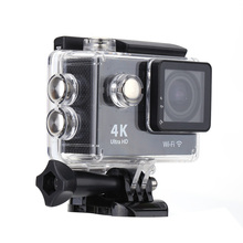 "2"" Display Screen 30M Waterproof Full HD Wifi 4K Sports Action Camera with 170 Degree Wide Angel Lens D3072B"