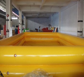 Hola pvc swimming pools/inflatable adult swimming pool for sale