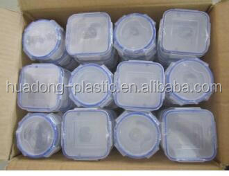 Clear plastic rectanglular drawer organzer