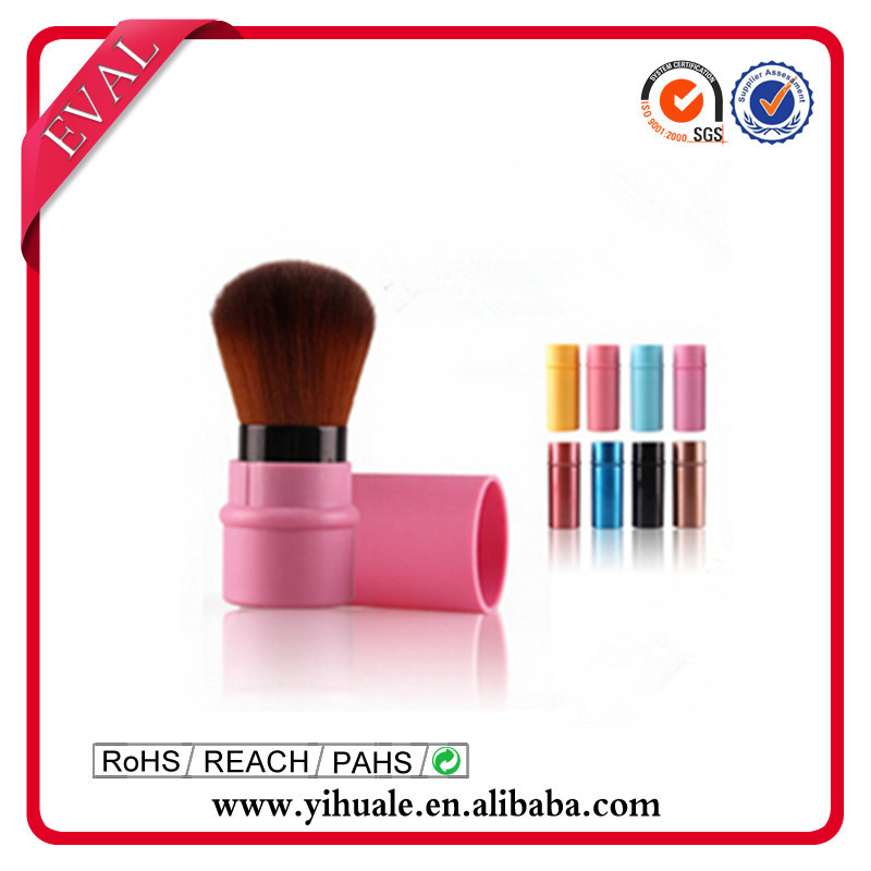 2015 Popular retractable make up brush
