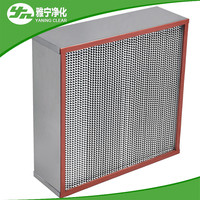Resistance high temperature hepa filter for furnace and ovens in Food Industry