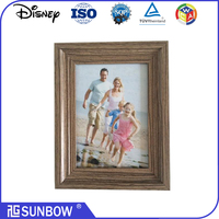 Chinese Vintage 4x6 black wooden picture frames wholesale