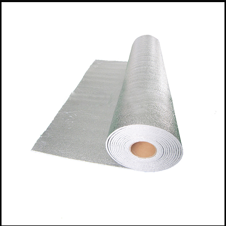 double sided aluminum epe/xpe foam foil heat insulation material