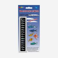Wholesale self adhesive color changing thermometer for aquarium