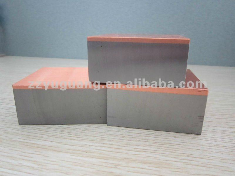 Bimetallic Copper/Steel Clad Metal for Steel Plants