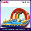 inflatable slip water slide,wave inflatable backyard water slide,kids inflatable slide pool