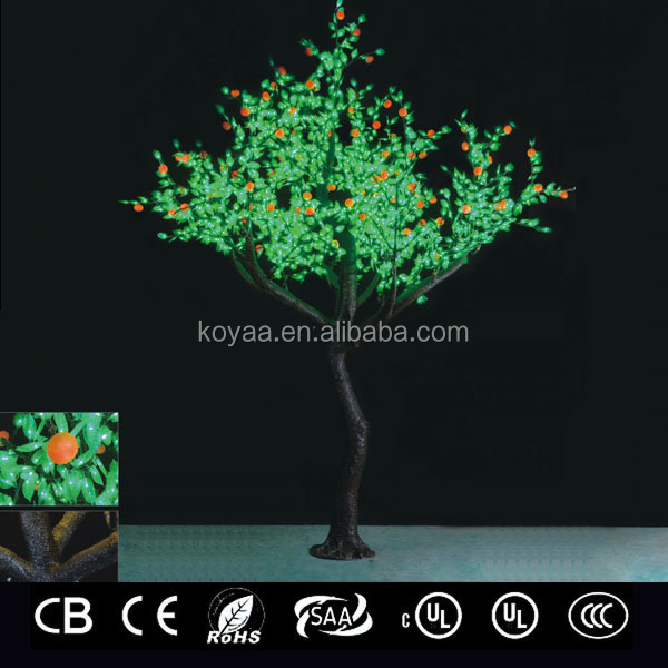 3.2m 2015 NEW artificial led tree light Christmas tree light FZ-2400 Green
