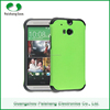 Mobile Phone & Accessories 11 Colors 2 in 1 Dual Layer Soft TPU PC Shockproof Back Case Cover for HTC One M8