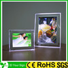 2015 High brightness acrylic crystal light frame