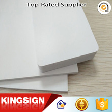 Easy to clean and maintain 3mm 5mm 15mm white pvc foam board