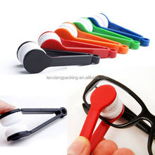 2PCS Random Color!!! New Glasses Sunglasses Eyeglass Spectacles Cleaner Cleaning Brush glasses cleaning kit