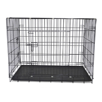 Cheap small iron foldable dog travel crates for dog