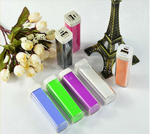 wholesale power bank external power tube for smart phones, digital products, power bank 2600mah
