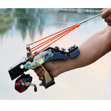 Bladder and Spear Slingshot Catapult Fishing