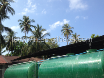 GFRP Waste Water Sewage Wastewater Treatment Plants