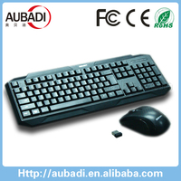 new arrival wireless gaming keyboard and mouse