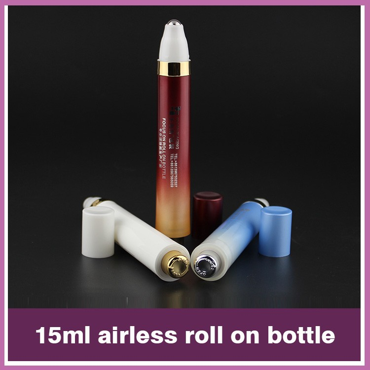 SRS unique roller ball Pep-Up bottle 15ml no leakage for free samples