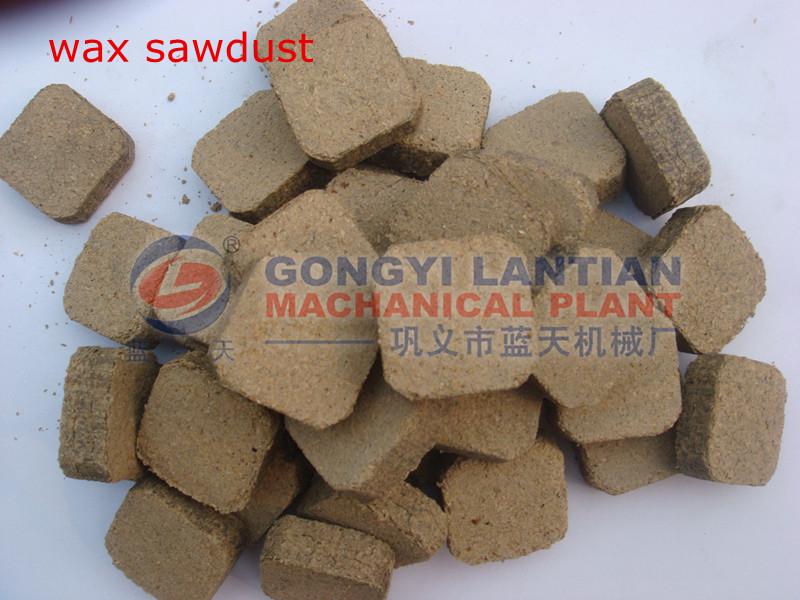 Sawdust Fire Starters ~ Charcoal coal tablet press machine wax sawdust fire