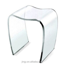 modern plain excellent quality transparent acrylic school stool furniture