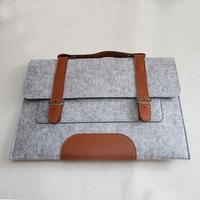 wholesale felt laptop briefcase bag