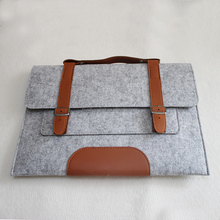 wholesale felt laptop briefcase bag